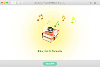 NoteBurner iTunes DRM Audio Converter v2.4.1 macOS screenshot