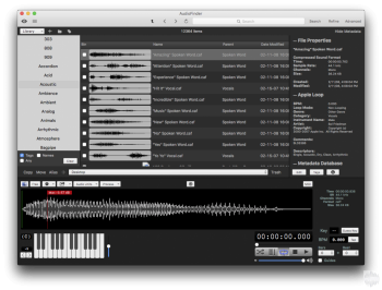 Iced Audio AudioFinder 5.9.19 MacOSX-TNT screenshot