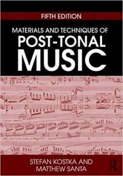 Materials and Techniques of Post-Tonal Music (5th Edition) PDF screenshot