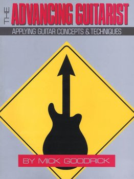 Hal Leonard The Advancing Guitarist by Mick Goodrick PDF screenshot