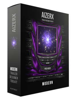 Keepforest AizerX Modern Trailer Designer Toolkit KONTAKT screenshot