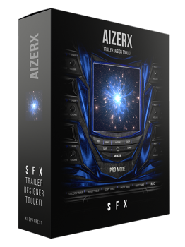 Keepforest AizerX Trailer SFX Designer Toolkit KONTAKT screenshot