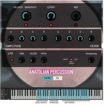 Rast Sound Anatolian Percussion v2 KONTAKT WAV screenshot