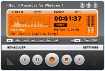 AbyssMedia i-Sound Recorder for Windows v7.7.0.0 screenshot
