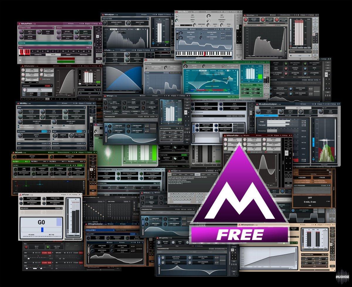 Download Melda Productions MFreeFXBundle v12 09 x64 x86 VST AU AAX