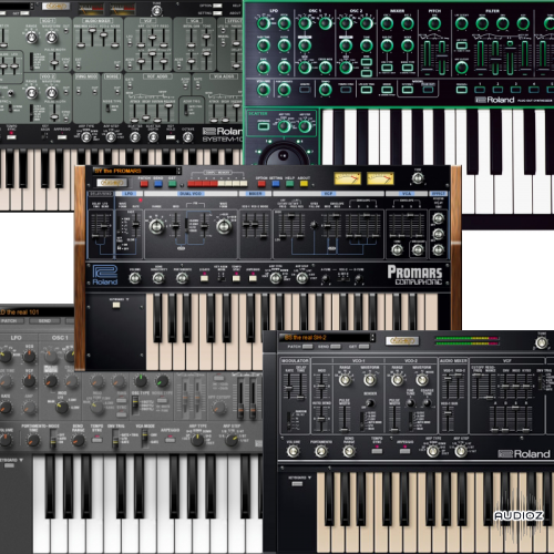 Download Roland VirtualSonics Legendary & AIRA Series 2018 12 CE-VR