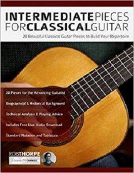 Intermediate Pieces for Classical Guitar: 20 Beautiful Classical Guitar EPUB screenshot