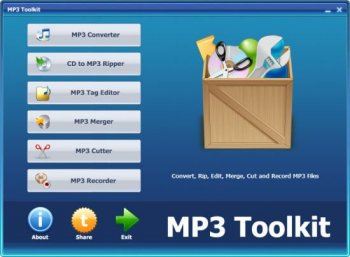 MP3 Toolkit 1.3.1 Portable screenshot