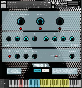 Rast Sound Whistle WAV KONTAKT [FREE] screenshot