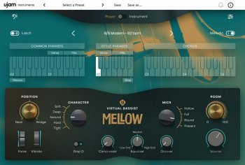 UJAM Virtual Bassist MELLOW Library v1.0.0-R2R screenshot