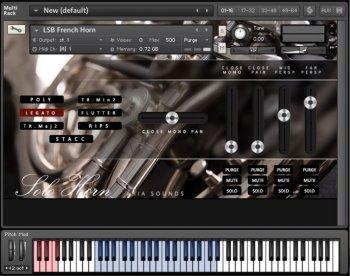 Aria Sounds LSB Solo French Horn KONTAKT screenshot