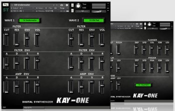 Sampletrip KAY-ONE KONTAKT screenshot