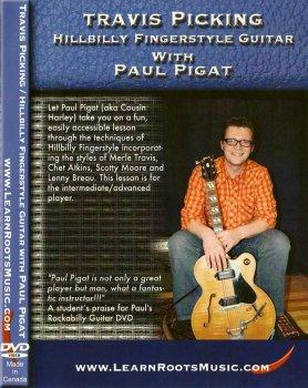 Mel Bay Travis Picking with Paul Pigat DVDrip M4V PDF screenshot