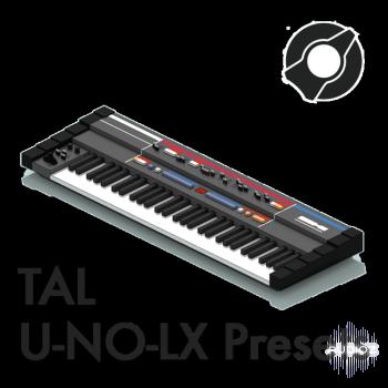 Reverb Machine TAL U-NO-LX Presets screenshot