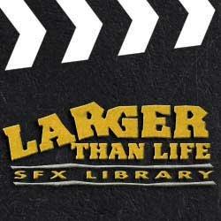 Sound Ideas Larger Than Life Sound Effects Library WAV 16 bit 48 khz screenshot