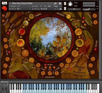 Atom Hub - Ghosts Of Autumn for Kontakt screenshot