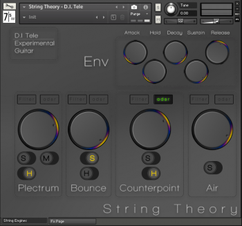 7 Soundware String Theory – D.i. Tele KONTAKT screenshot