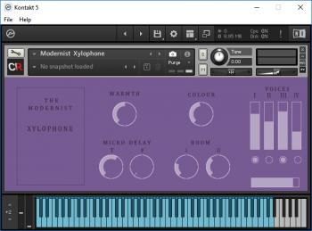 Channel Robot The Modernist Xylophone KONTAKT screenshot