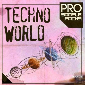 Pro Sample Packs Techno World WAV MIDI SYLENTH1 SPIRE screenshot
