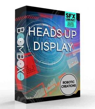 Boom Box Library Robotic Creations: Heads Up Display Toolkit WAV KONTAKT TouchOSC screenshot