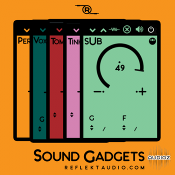 Reflekt Audio Sound Gadgets VST WiN MAC [FREE] screenshot