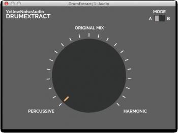 YellowNoiseAudio DrumExtract v1.1 WiN X86 X64 screenshot
