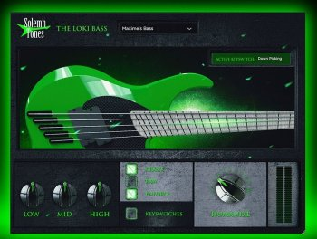 Solemn Tones - The Loki Bass - Win x64 screenshot