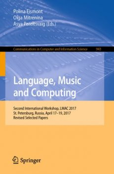Language, Music and Computing: Second International Workshop, LMAC 2017 screenshot