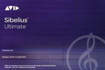 Avid Sibelius Ultimate 2018.12 Build 954 Multilingual screenshot