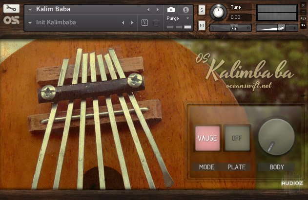 Download Ocean Swift Kalimbaba FOR NATiVE iNSTRUMENTS