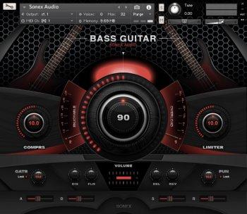 Sonex Audio Bass Legends KONTAKT screenshot