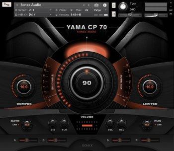 Sonex Audio Electric Pianos KONTAKT screenshot