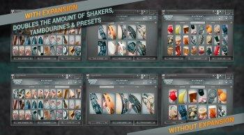 In Session Audio Shimmer Shake Strike v1.1 Incl. Expansion KONTAKT screenshot