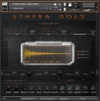 Zero-G Ethera Gold KONTAKT screenshot