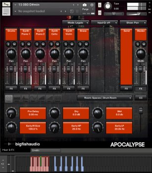 Big Fish Audio Apocalypse: Trap Construction Kits MULTiFORMAT screenshot