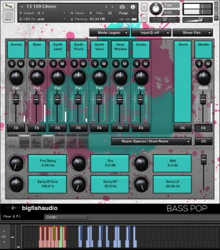 Big Fish Audio Bass Pop: Bass-Pop-EDM Construction Kits MULTiFORMAT screenshot