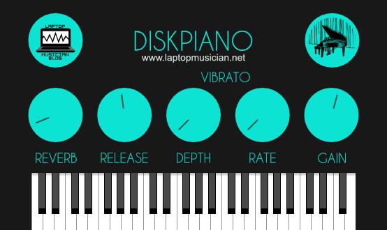 Download Laptop Musician Diskpiano X64 AU VST VST3 WiN MAC