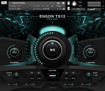 Sonex Audio Synthesizers KONTAKT screenshot