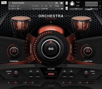 Sonex Audio Drums and Mallets KONTAKT screenshot