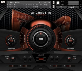 Sonex Audio Harp Solo KONTAKT screenshot