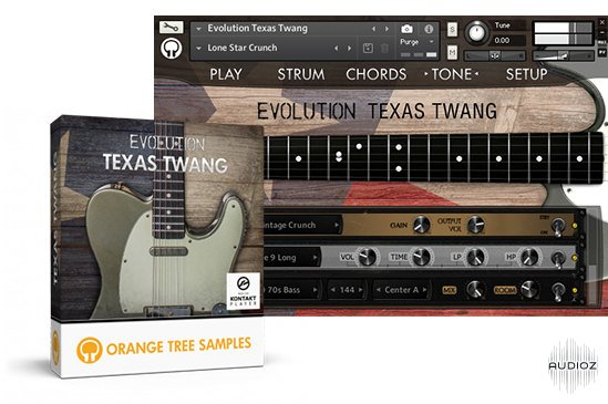 Download Orange Tree Samples Evolution Texas Twang - Kontakt