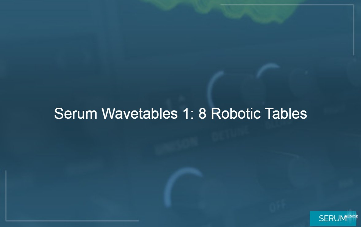 Download Typhonic Samples Serum Wavetables Vol  1 WAV [FREE