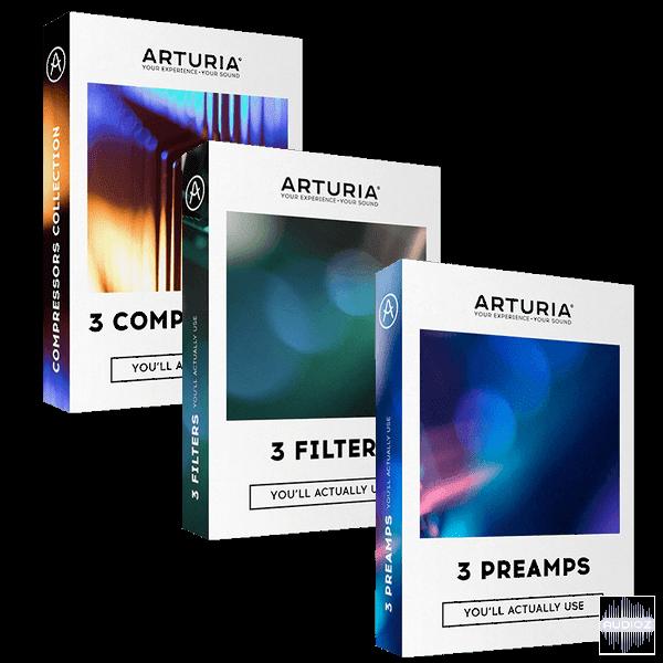 Download Arturia 3x3 FX 2019 3 CSE Fixed-V R » AudioZ