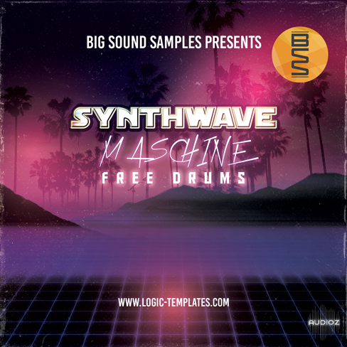 Download Logic Templates - Synthwave Maschine Free Drums