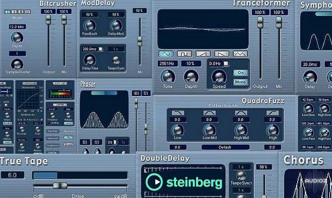 Download Steinberg Cubase SX VST Plugins Packs 1 & 2