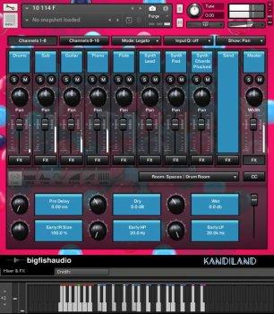 Big Fish Audio Kandiland: EDM Construction Kits KONTAKT screenshot