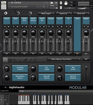 Big Fish Audio Modular: Analog Tech House KONTAKT screenshot