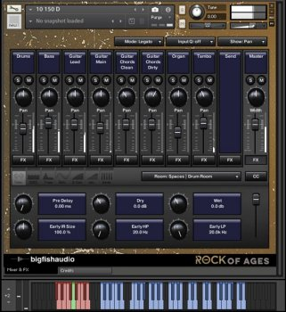 Big Fish Audio Rock Of Ages KONTAKT screenshot