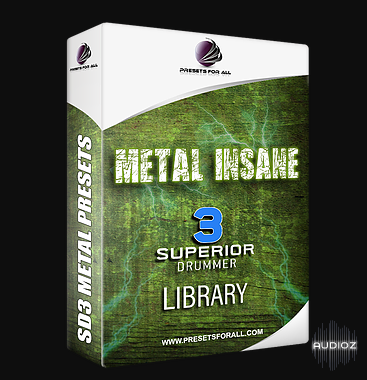 Download Presets For All - Metal Insane Drum Library Project