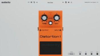Audiority Distortion 1 v1.1 VST VST3 AU AAX MAC/WiN screenshot